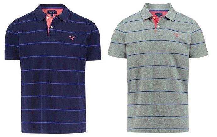 GANT 3 Color Piqué Rugger Poloshirt für 55,87€ (statt 70€)