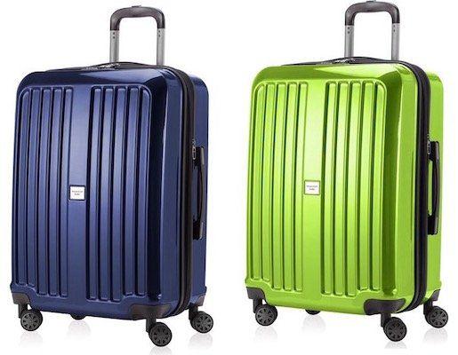 Hauptstadtkoffer X Berg Hartschalen Koffer mit 90 Litern in Dunkelblau oder Apfelgrün für 60€(statt 100€)