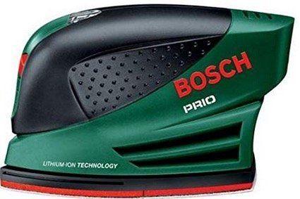 Kabellose Schleifmaschine Bosch Multi Prio 7,2Li für 39,99€ (statt 73€)