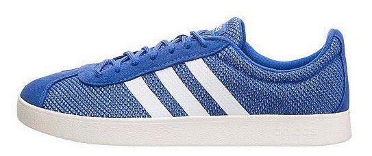 adidas Freizeitschuh VL Court 2.0 blau/weiß für 34,95€ (statt 60€)