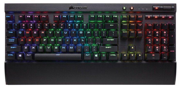 Corsair K70 LUX RGB Gaming Tastatur mit Cherry MX Red Tastenschaltern für 105,89€ (statt 175€)