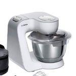 Bosch MUM58W20 Küchenmaschine mit Durchlaufschnitzler und Mixer-Aufsatz für 199,99€ (statt 235€)