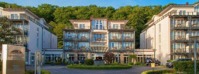 2 ÜN auf Rügen im 5* Grand Hotel Binz inkl. Frühstück und Abendessen, Wellness und Spa ab 149€ p.P.