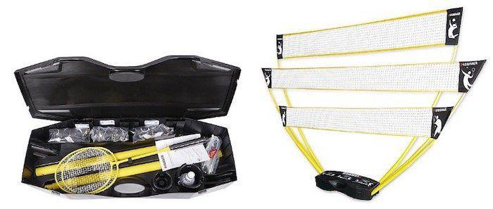 Hammer 3 in 1 Netze Set inkl. Badminton Schläger für 49,99€ (statt 76€)