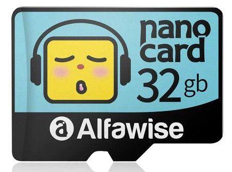 Alfawise MicroSD Speicherkarte mit 32GB für 3,91€