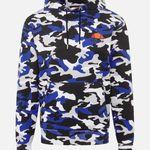 ellesse Toce Hoodie mit blauem Camouflage für 22,46€ (statt 66€)