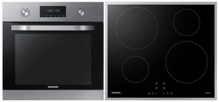 Ausverkaft! Samsung NV70K3370BS Einbaubackofen + Induktionskochfeld für nur 627,29€ (statt 749€)