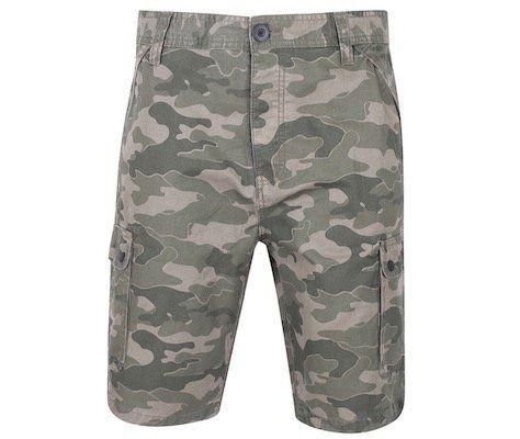 DNM Dissident Guayana Herren Shorts mit Camouflage für 10,61€(statt 19€)   nur S, M, L