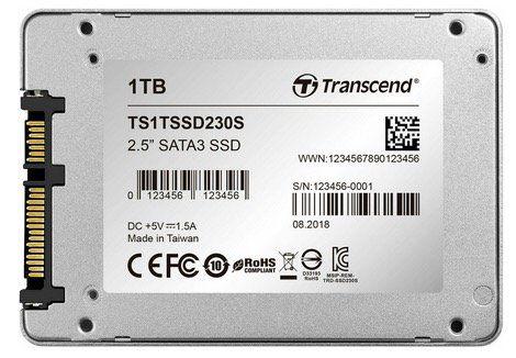 "Transcend 1TB 2.5"" SSD Festplatte für 99,90€ (statt 115€)"