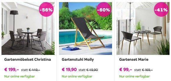 Fetter Mömax Sale bis zu 70% Rabatt z.B. Strandstuhl Molly aus Holz für 19,90€ (statt 50€)