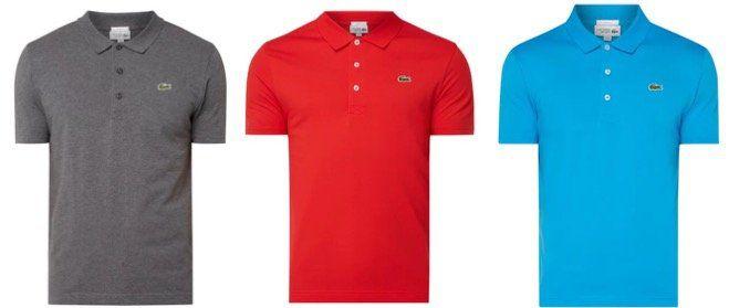 Lacoste Slim Fit Poloshirt mit Logo Badge in vielen Farben und Restgrößen für 41,99€ (statt 60€)