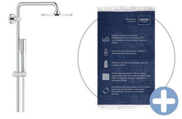 Grohe Euphoria XXL 210 Duschsystem mit Thermostathahn für 378,90€ (statt 406€)