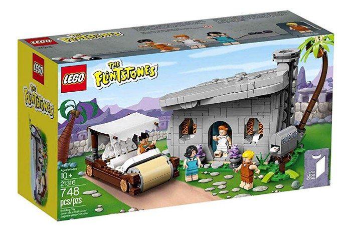 Yabba Dabba Doo! LEGO The Flintstones   Familie Feuerstein (21316) für 44,99€ (statt 53€)