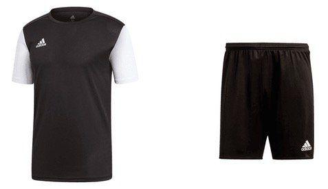 adidas Set Estro 2 teilig (Trikot und Shorts) für 16,95€ (statt 22,85)