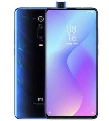 Xiaomi Mi 9T in Schwarz mit 128GB und ausfahrbarer Selfiekamera für 268,50€