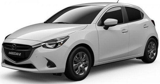Mazda 2 Primeline Skyactive Klima im Privat  oder Gewerbe Leasing für 118,75€ mtl. brutto