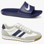 Nike Slide Badelatschen (40-46) + Memphis One Sneaker (42-46) für zusammen 25€