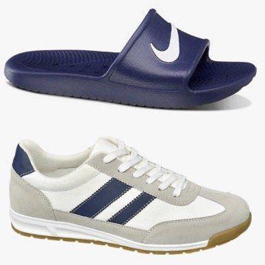 Nike Slide Badelatschen (40 46) + Memphis One Sneaker (42 46) für zusammen 25€