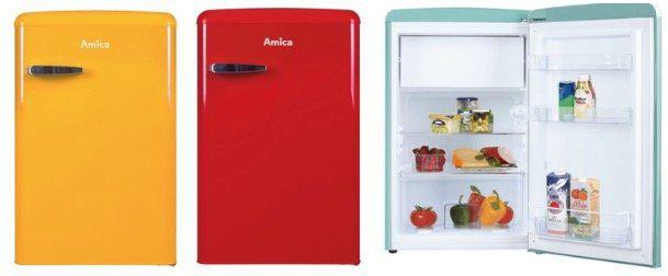 Amica Retro Kühlschrank KS15610 mit Gefrierfach ab 203,95€ (statt 245€)