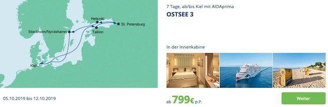 🚢 AIDA Verlockung der Woche z.B. 7 Tage Orient mit AIDAprima ab 1.059€ p.P. inkl. Flug