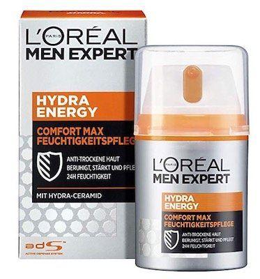 Ausverkauft! L'Oréal Men Expert Hydra Energy Comfort Max ab 3,91€ (statt 6€)   Prime
