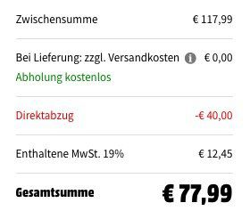 Abgelaufen! Gigaset SL450HX Black Edition Universal Mobilteil z.B. für FRITZ!Box für 77,99€ (statt 112€)