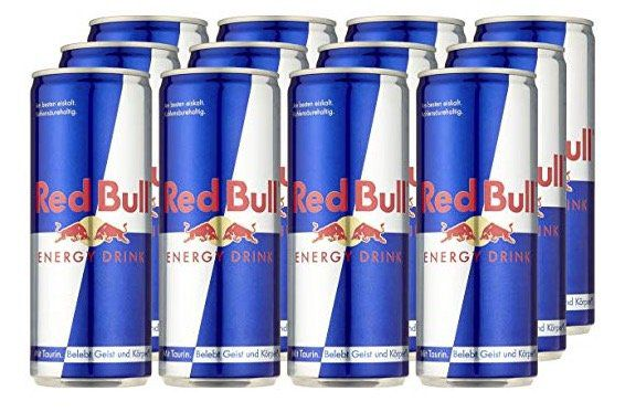 Amazon Pantry: 120er Pack Red Bull (je 250ml) für 90,49€ inkl. 30€ Pfand   Primer