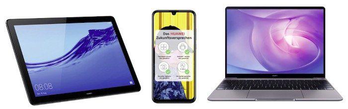 eBay: 10% Rabatt auf ausgewählte Huawei Geräte