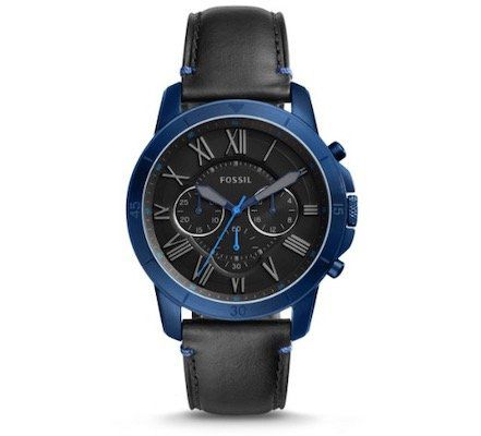 Fossil Grant FS5342 Herren Uhr mit Lederarmband für 60,52€ (statt 89€)
