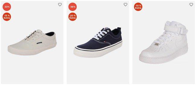 Bis morgen: Schuhe und Sneaker Sale bei About You bis 74% Rabatt + 30% Extra Rabatt (MBW 75€)   z.B. BOSS, Clarks, Dr. Martin