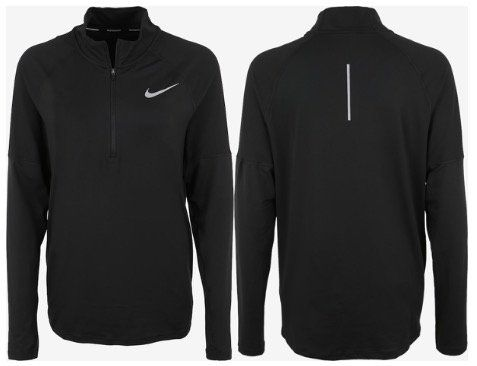 Nike Fitness Top ELMNT in Schwarz für 26,91€ (statt 41€)   M, L & XXL