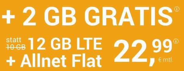 o2 Allnet Flat von winSIM mit 12GB LTE + 10€ Wechselbonus für 22,99€mtl.