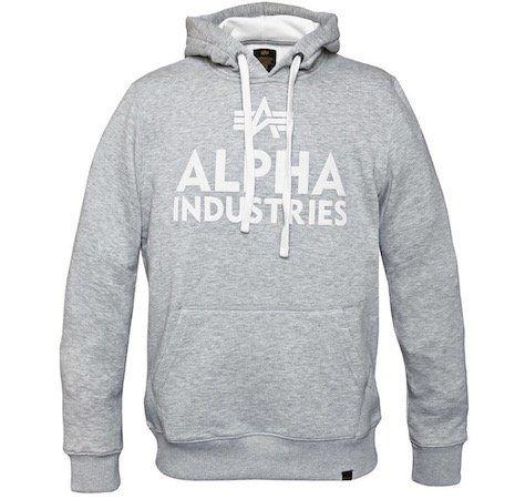 Alpha Industries Hoodie mit großem Brustlogo für 38,17€(statt 50€)   nur S, M, XL