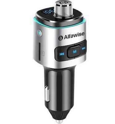 Alfawise QC3.0 Bluetooth FM Transmitter mit Sprachassistent Unterstützung für 10,36€