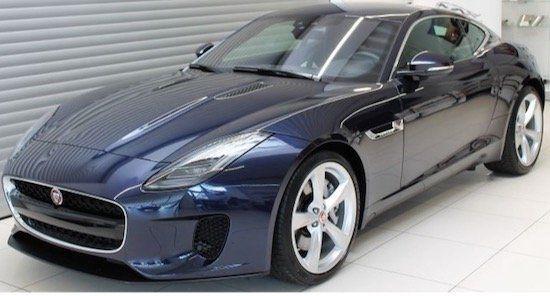 Jaguar F Type Coupé P340 mit 349 PS inkl. Wartung im Leasing für 530,63€ mtl. brutto