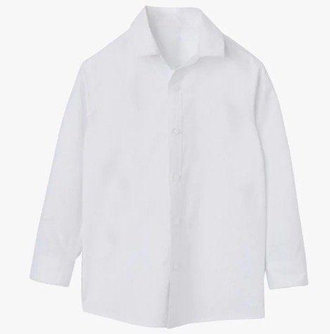 Verbaudet Jungen Hemd in Weiß (98/104, 146/152, 158/164) für 2,96€(statt 10€)