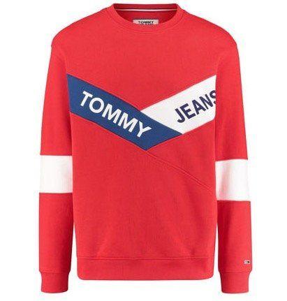 Tommy Jeans Chevron Crew Sweatshirt für 50,86€ (statt 62€)   S, L und XL