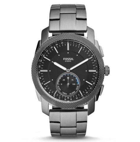 Fossil Q Machine Hybrid Smartwatch für 118,40€ (statt 160€) + guter Bereich mit Extra Rabatt