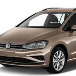 VW Golf VII Sportsvan mit 130 PS im Gewerbe-Leasing für 126€mtl. netto
