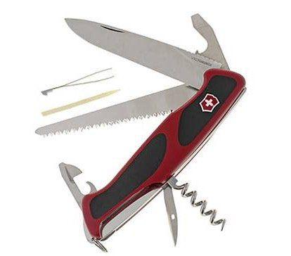 Victorinox RangerGrip 55 Schweizer Taschenmesser mit 12 Funktionen für 35,48€ (statt 43€)