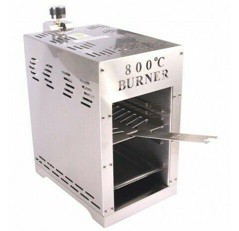 Burner Oberhitze Gasgrill mit bis zu 800°C für 79,99€ (statt 100€)
