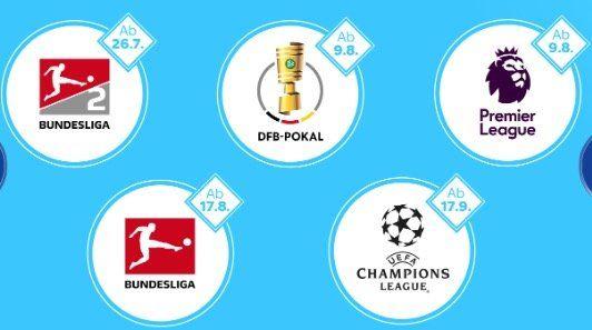 Sky Supersport Ticket 1 Monat für 9,99€ oder 5 Monate für 99,99€  Bundesliga + neu: Premier League