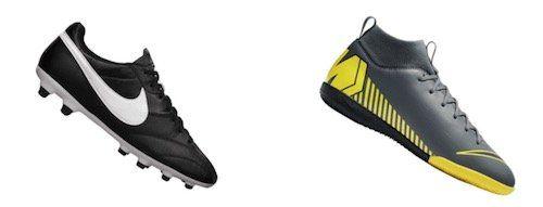 Nike Fußballschuhe im Sale bei Geomix   z.B. Nike Mercurial SuperflyX VI für 26,28€ (statt 54€)