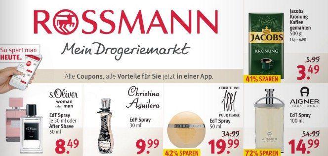 Aktuelle ROSSMANN Angebote mit z.B. Nescafé Gold 100g für 3,99€ (statt 4,99€)