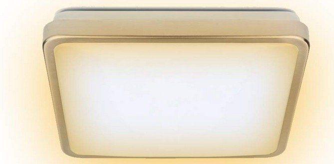LED Deckenleuchte mit 12W in 277x277x86mm für 11,19€ (statt 16€)