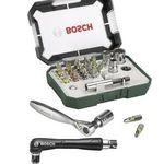 Bosch Promoline Bit-Set mit 27 Teilen + Ratsche + Bithalter für 11,99€ (statt 20€)