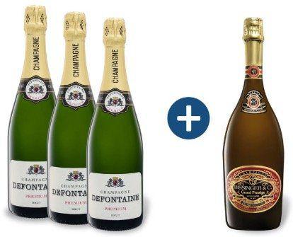 Champagner bis  29% bei LIDL + keine VSK ab 29€
