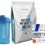 Impact Whey (1kg) + Bodylab24 Creatin Powder (500g) + 2 Shaker für 23,89€