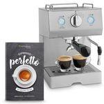 Springlane Perfetto Emilia Siebträger-Espressomaschine mit 15 bar für 49€(statt 84€)