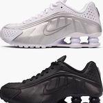 Nike Shox R4 Sneaker in Schwarz und Weiß ab 81,40€ (statt 120€)